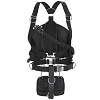 Apeks WSX Sidemount System | Apeks, the company that produces the premiere line of technical dive gear, offers you a top of the line sidemount harness system. The WSX is a feature rich, complete sidemount harness system. The WSX comes with the bladder, harness with crotch strap, D-rings, bungee and accessory butt pack.