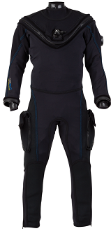 Aqua Lung Fusion Bullet AirCore Drysuit | AirCore Technology: The AirCore's trilaminate breathable material is diver-tested and provides superior comfort by significantly reducing pre/post dive surface overheating. The inner layer makes donning and doffing the Fusion a breeze. AirCore is specifically designed to outlast and outperform other breathable Drysuits. Upgrade your diving experience with the Fusion AirCore.