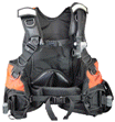 Aqua Lung PRO QD M Buoyancy Compensator | Available in all black for clandestine operations or Hi-Viz for added visibility. | Aqua Lung Pro QDM Public Safety Diving BCD