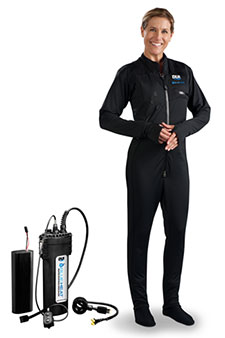 DUI BlueHeat Heated Divewear Insulation |