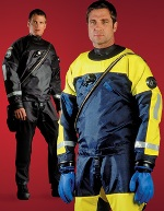 DUI TLS350PS Drysuits | Trilaminate material made of Nylon/Butyl Rubber/Nylon | www.dui-online.com