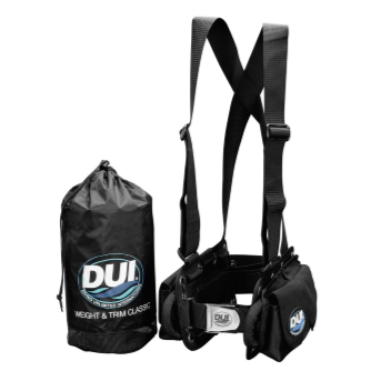DUI Weight& Trim™ System | Available at Scuba Center in Eagan, Minnesota