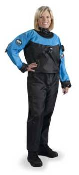 DUI TLSSE Drysuits | Trilaminate material made of nylon/butyl rubber/nylon | www.dui-online.com | Scuba Center is the Minnesota drysuit leader