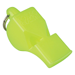 Fox 40 Mini Whistle | Authentic. Original. Standard choice for personal safety and rescue professionals worldwide. | The flawless performance of Fox 40 Pealess Safety Whistles has made our whistle the preferred choice for marine safety. It will be heard above ambient noise, the roar of engines, breaking waves and thundering gale-force winds. The chambers are designed to self-clear when submerged in water. There are no moving parts to freeze, jam or deteriorate. Smaller version of Fox 40's first pealess whistle. The harder you blow, the louder the sound! Reliable, flawless consistent and penetrating sound.