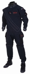 Hollis BioDry Drysuit | Forget the drysuits you have known and discover how comfortable drysuit diving can really be. Constructed with patented WearForce(R) material, the BioDry Drysuit is like no other suit on the market. Strength and 4 way stretch with a complete range of motion allows for a more streamlined fit. Say goodbye to bunching and rigid material. Never before has a drysuit been more comfortable.
