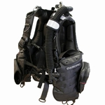 Hollis EnviroPro | Contaminated Water Diving BC | Molle Strap System included | Public Safety Diving BCD available from Scuba Center in Eagan, Minnesota