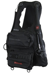 Hollis R.E.D.S. | Rapid Emergency Deployment System | Public Safety Buoyancy System | This BCD is also great for kayaking or boating allowing quick and easy deployment.