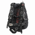 "Hollis SMS100 Expedition Harness | The Hollis SMS100 Sidemount system was designed not just with the sidemount cave divers in mind, but any diver. Whether you are a beginner, advanced or technical diver, this kit was designed for you. Suitable for sidemounting twin or single cylinders, but also for use with rebreathers or rear mounted singles. This ""go anywhere"" system can be used in any environment from open water to the overhead environment. Ready to dive out of the box."