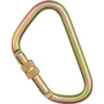 "Omega Pacific 1/2"" Extra Large ""D"" Steel Carabiner 