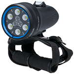 Light and Motion Sola 2000 S/F | Spot and flood beam versatility with powerful lumen output designed to light up large sections of reef.