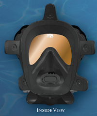 OTS Spectrum Full Face Mask | Inside view | Contact us for details