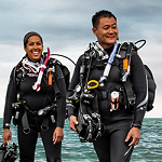 Scuba Center is Minnesota's largest scuba diving school. | Locations in Eagan, Minnesota and Minneapolis, Minnesota.
