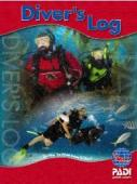 Red PADI Diver's Log Book | #70048 | Diver's Log Books