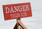 Ice safety | When is ice safe? There really is no sure answer. You can't judge the strength of ice just by its appearance, age, thickness, temperature, or whether or not the ice is covered with snow. Strength is based on all these factors -- plus the depth of water under the ice, size of the water body, water chemistry and currents, the distribution of the load on the ice, and local climatic conditions. | Ice Safety information provided by Minnesota Department of Natural Resources
