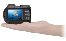 SeaLife Micro 2.0 Camera fits in the palm of your hand |