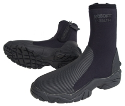SeaSoft Stealth Military Boots | Inspired by and designed for the US Navy SEALs | Amphibious Marine Tactical Diving Equipment | Surface, Tactical, Water Rescue, and SAR Swimmer Equipment | www.seasoftscuba.com