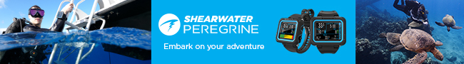 Scuba Center is thrilled to announce the launch of the new Shearwate PEREGRINE dive computer.