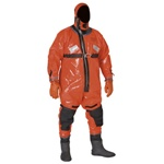 "Stearns Ice Rescue Suits | Stearns listened to the Ice Rescue professionals and developed features not found on any other suit. Their new ""Burpgrip �"" handle makes it easier to release the air in the suit, and the ""Invisivalve �"" allows for continuous purging of the air ensuring that you get the maximum performance of the suit while being able to focus solely on the rescue. 