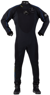 Aqua Lung Fusion One Drysuit | Whites innovative DryCORE technology offers the ultimate in mobility, warmth, and streamlining. Quite simply, there is no comparable dive suit, wet or dry, that can match the performance of this revolutionary new design. | www.whitesdiving.com | Available at Scuba Center in Eagan, Minnesota