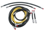 Regulator hoses for technical diving configurations |