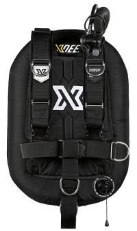 XDEEP ZEOS Deluxe | Classic backplate and harness for single tank recreational diving and wreck diving.